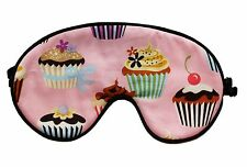 Eye Sleeping Mask CUPCAKES PINK by Graggie Australia*GA