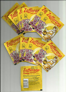 ZAFFERANO 15 BUSTINE DA gr. 0,125 - SPEDIZIONE GRATIS