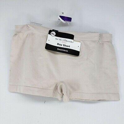 2 Pair Bobbie Brooks Ladies Seamless Boy Shorts Full