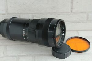 TAIR-33-300mm-F4-5-lens-telephoto-KIEV-88-Salut-camera-Soviet-Russian-USSR