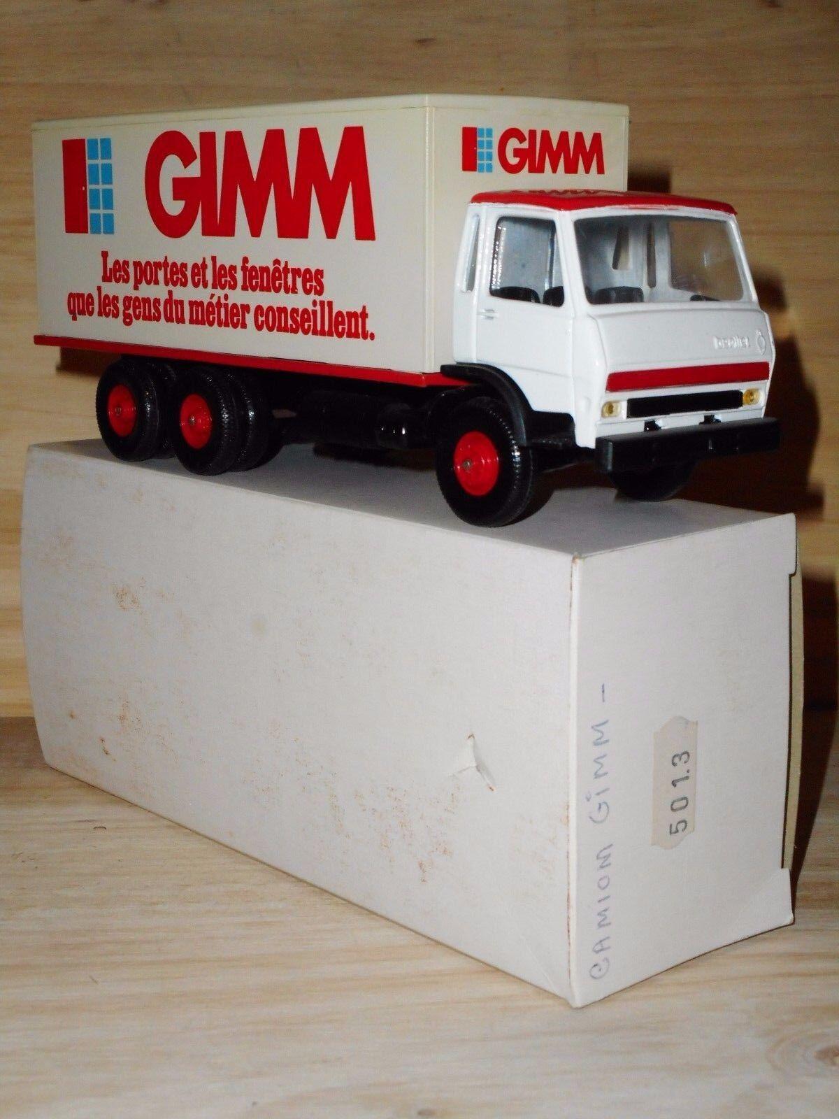 LBS eligor BERLIET  GRH 230  6X4   PUBLICITAIRE   GIMM   porte fenêtre