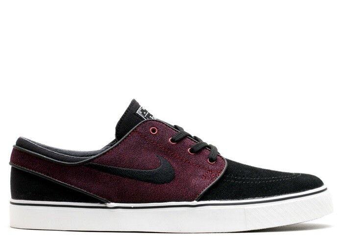 Nike ZOOM STEFAN JANOSKI Black Team Red Ivory Skate 333824-028 (416) Men's Shoes
