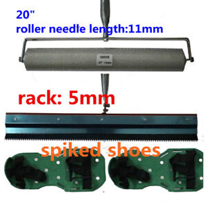 Cement Self-leveling Kit Epoxy Floor Paint Roller Blade Spike Construction Tool