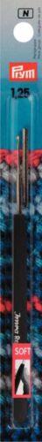 Prym Mango Negro Fácil Agarre Ganchos de ganchillo 0.75mm 12.00mm establece /& Individual