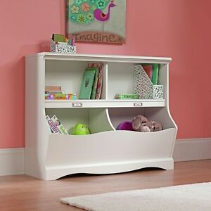 Image Is Loading NEW Storage Chest Kids Toy Box Wood Bookcase