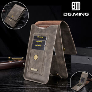 the latest eb254 3080d Details about Fr Samsung NOTE 9 S10 S9 Plus Leather Case Card Pouch Bag  Belt Clip Ring Holster