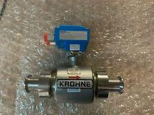 Krohne Ifs6000f 6 Flow Meter Altometer 910 S