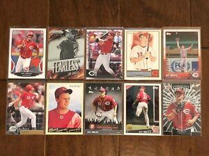 Jay-Bruce-Cincinnati-Reds-10-Baseball-Card-Lot-No-Duplicates