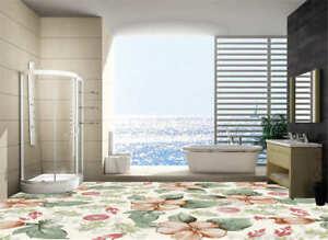 3d Fußboden Kaufen ~ Elegante blume d fußboden wandgemälde foto bodenbelag tapete