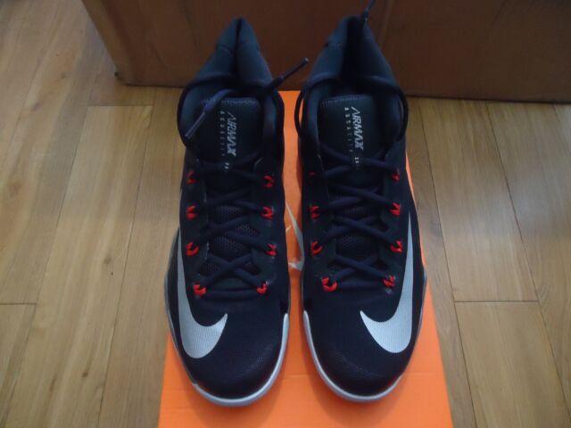 Nike Air Max Audacity 2016 [843884 003] Basketball Anthony Davis BlackRed NIB