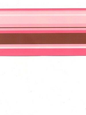 3.75 Inch Solid White Peel /& Stick Wallpaper Border QA4W0103