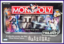 2004 Hasbro Star Wars Monopoly Original Trilogy Edition Board Game - New, Sealed