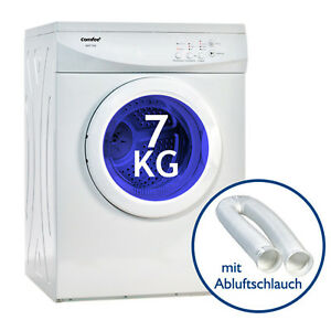 Waeschetrockner-Trockner-Ablufttrockner-Comfee-AWT-700-7kg-EEK-C-mit-Schlauch