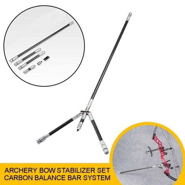 STARK Archery Stabiliser Extender Black Carbon Fibre