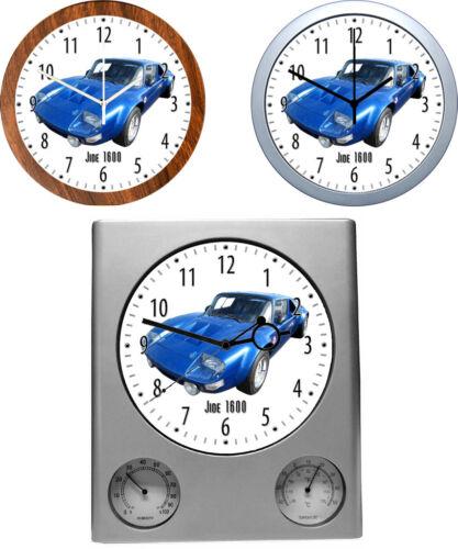 3 verschiedene Uhrenmodelle KFZ Wanduhr mit Auto Motiv Automarke I /& J