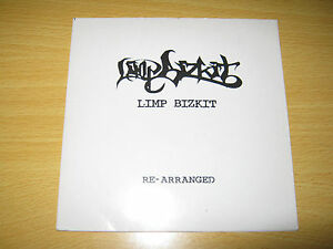 LIMP BIZKIT RE-ARRANGED CD SINGLE PROMO