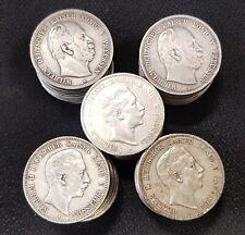 Preußen Anlegerposten Lot 50 x 5 Mark Silbermünze Wilhelm I. und II. ss