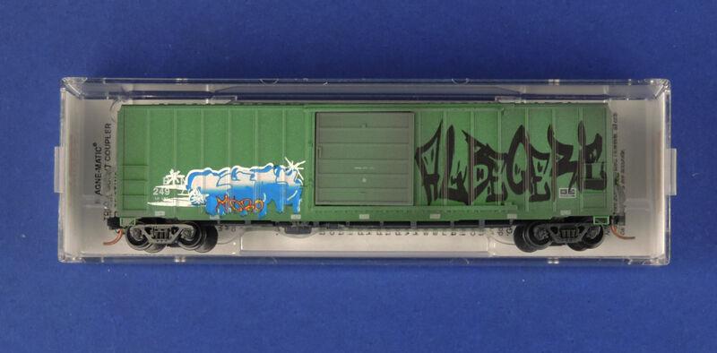 025 53 750 BN 249719  50' BOXCAR   MTL  MICRO TRAINS N SCALE FW