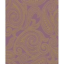 Rasch Barbara Becker Paisley Motif Patterned Textured Metallic Wallpaper 716726