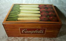 Campbell's Soup Christmas Ornament Lot of 3 Vegtables