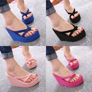 Sexy wedge flip flops