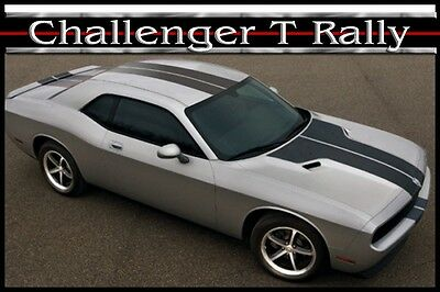 DODGE CHALLENGER FRONT ANGLE DUEL STRIPES KIT 2008//2010 3M GRAPHIC FACTORYSTRIPE