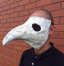 Il medico della Peste Maschera Costume Bianco Lattice Halloween Gotico Steampunk Bird Becco