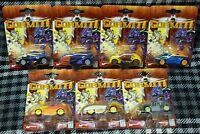 Gormiti - 1:64 Scale Plastic Cars - Set Of 7 Cars