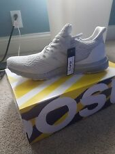 Adidas Ultra Boost 3.0 Crystal White And Silver Size Men's 9 Style Code BA8922