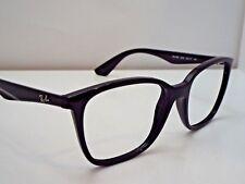 c63349ab222 Authentic Ray-Ban RB 7066 2000 Black Eyeglasses DEMO Frame MSRP  183