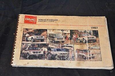 GMC Light Duty Truck Wiring Diagram Electrical Manual 87 S ...