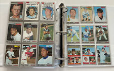 1970 Topps Baseball Partial Set Ex Ex 468 Diff With Semi Amp Hi See Scans