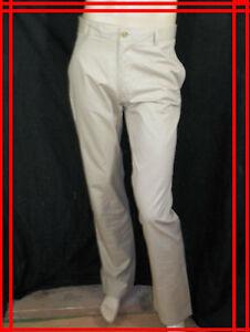DE-FURSAC-T-42-44-NEUF-ETIQUETTE-pantalon-beige-coton-homme-chino-trousers