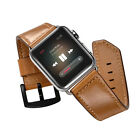 Genuine Leather Watch Strap Watch Band for iWatch Apple Watch 2 and 1 38mm 42mm
