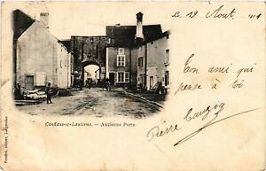 CPA-Conflans-sur-Lanterne-Ancienne-Porte-636370
