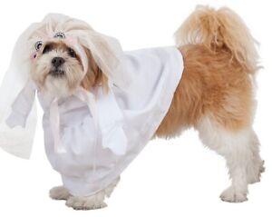 Deguisement-de-MARIEE-pour-Chien-S-un-Costume-pour-Animal-NEUF