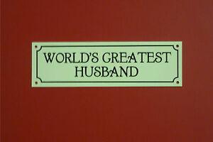 World S Greatest Husband Christmas Birthday Anniversary Thanks Gift