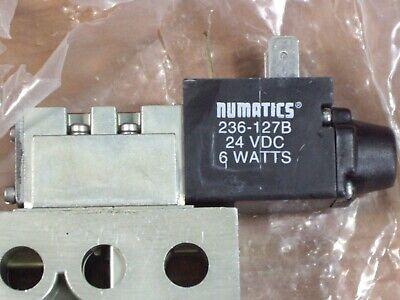 Factory Sealed Numatics 031SA4154000061 Pneumatic Solenoid Valve 236-127B