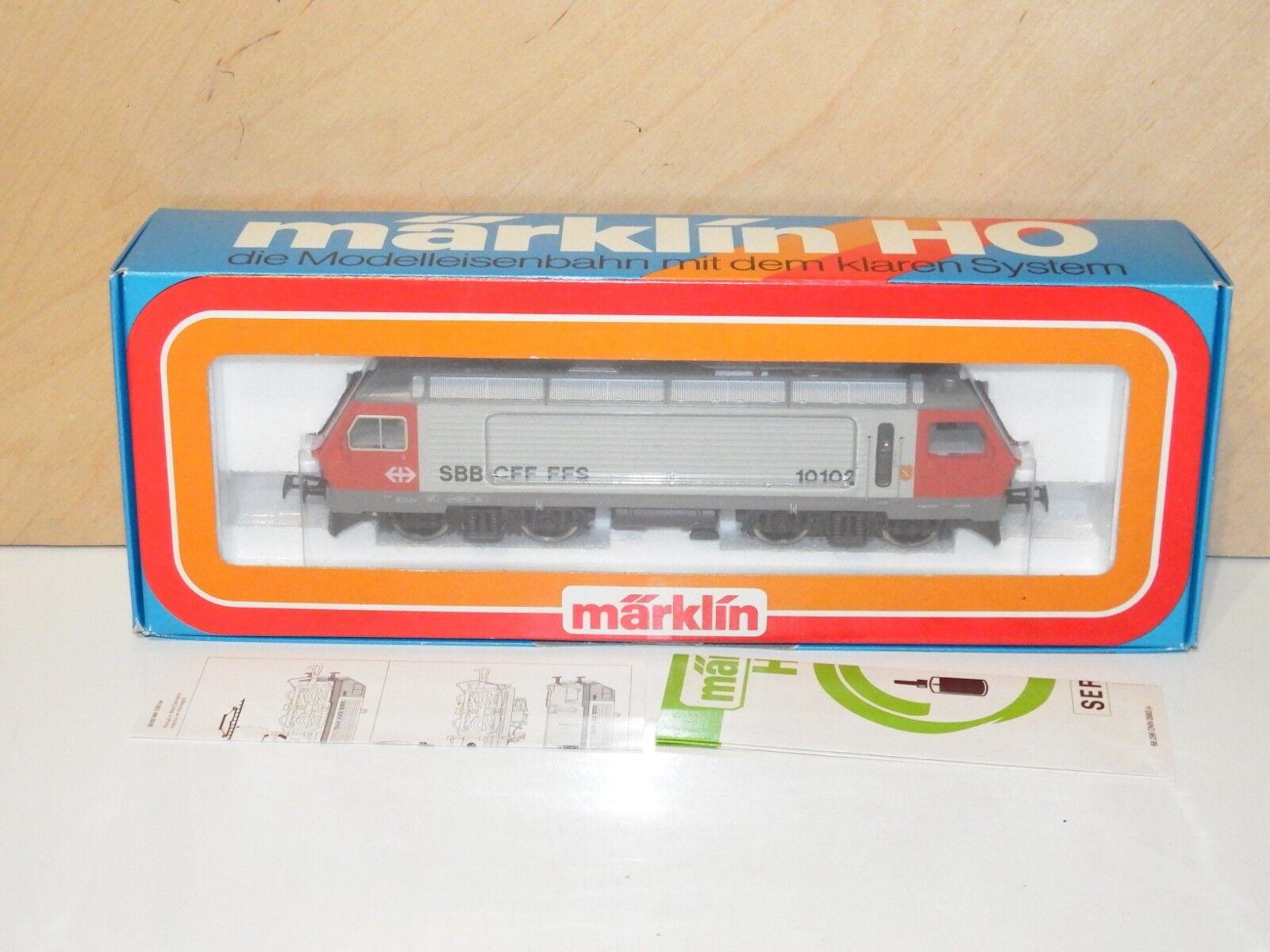 H0 Märklin 3323 Elektrolok BR SBB 10102 come nuovo OVP 8814