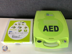 Details about Zoll AED Plus Defib W/ **NEW** CPR-D-Padz and Batteries