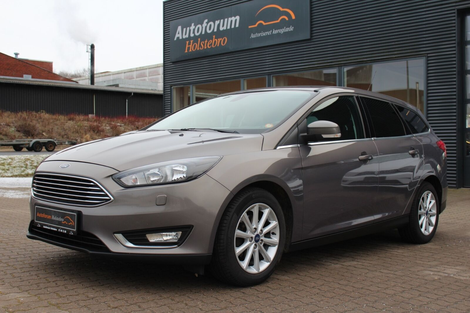 Ford Focus 1,5 TDCi 120 Titanium stc. aut. 5d - 137.800 kr.