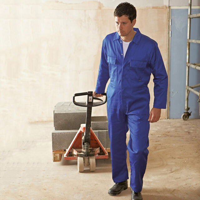 Portwest EURO Workwear uomo in policotone Tuta Tuta Tuta di protezione