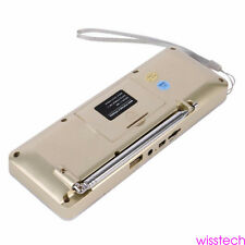 USB Bluetooth Digital AM FM Radio Mini Speaker MP3 Music Player Dual 2 CHANNEL