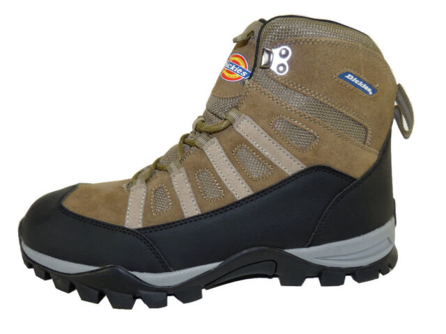 """Dickies Escape Brown Lightweight Suede / Leather / Mesh 6"""" Hiking Boots"""