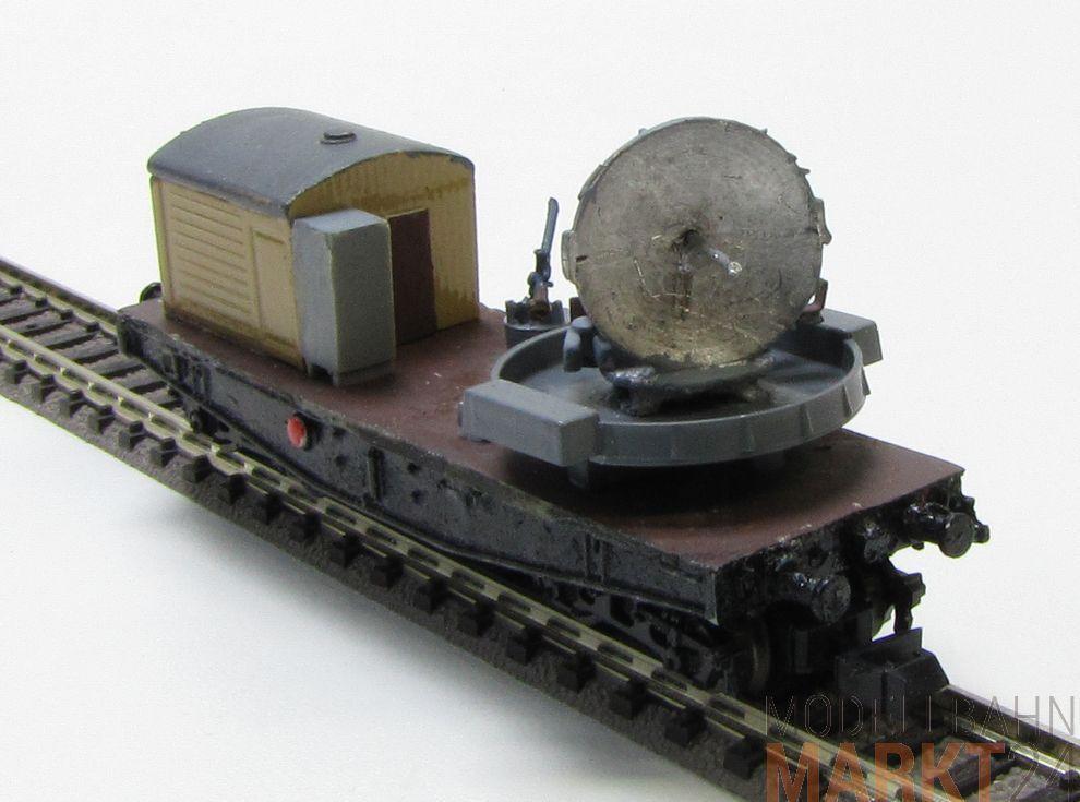 Militär Radarwagen Güterwagen mit Radarschüssel und Häuschen für für für Spur N 1 160  | Düsseldorf Online Shop  532726