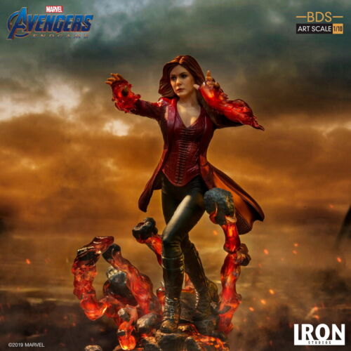 Iron Studios 1//10 Scarlet Witch Statue AvengersEndgame Female Set MARCAS19219-10
