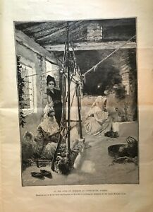 Antique-page-from-1899-Harpers-Bazaar-Magazine-used-for-art