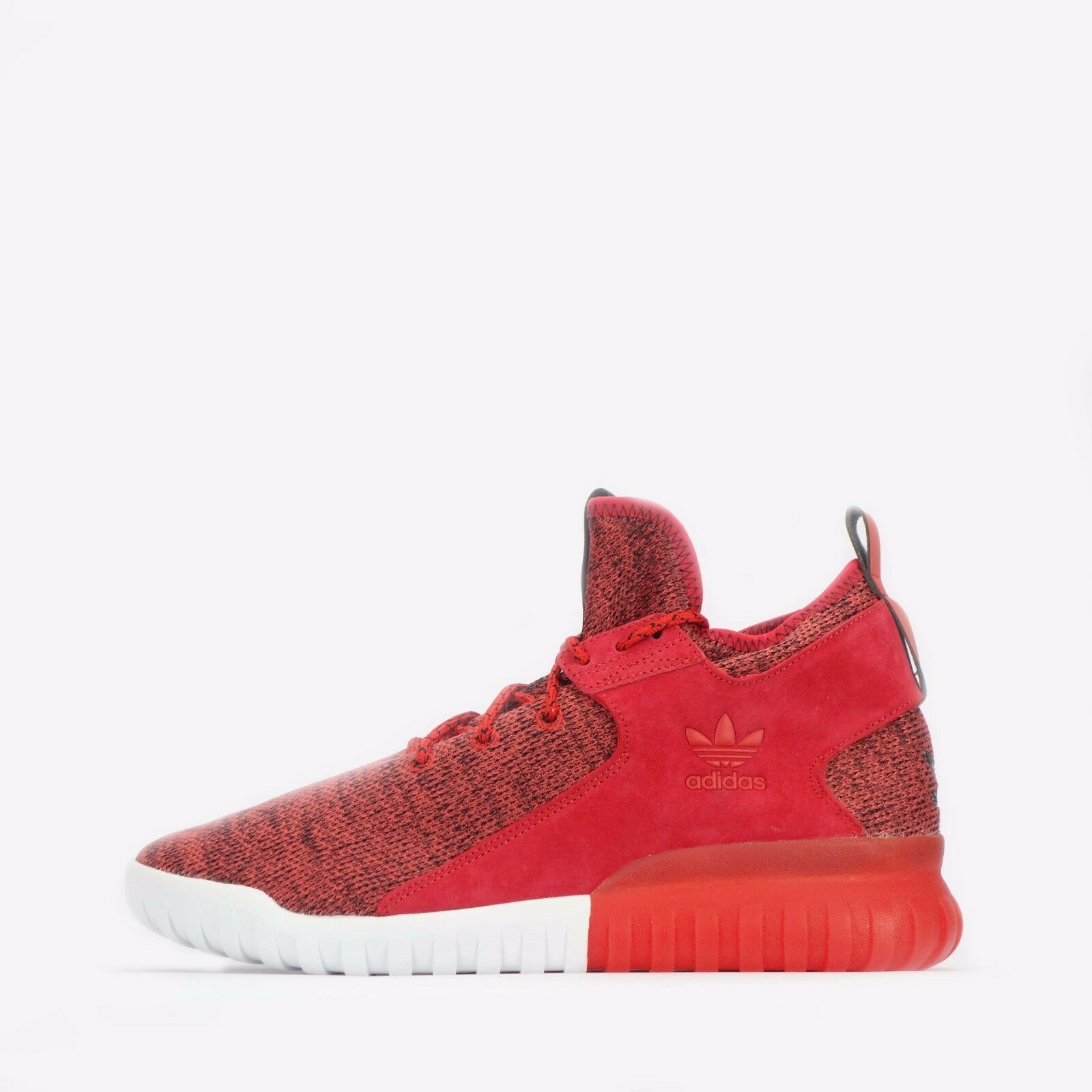 adidas Originals Tubular X Knit Men's shoes in Red