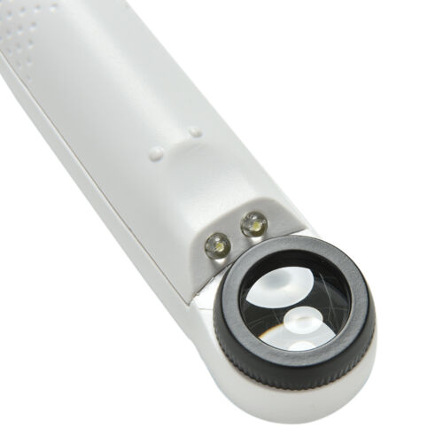 Mit LED-Mikroskop High Power 40x Licht Lupe Handheld Lupe ZP