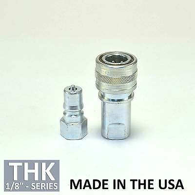 "Foster FHK Series 1//4/"" K2S//S Stainless Steel ISO B Hydraulic Quick Connect Plug"